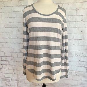 Lululemon Wide Striped Long Sleeve T